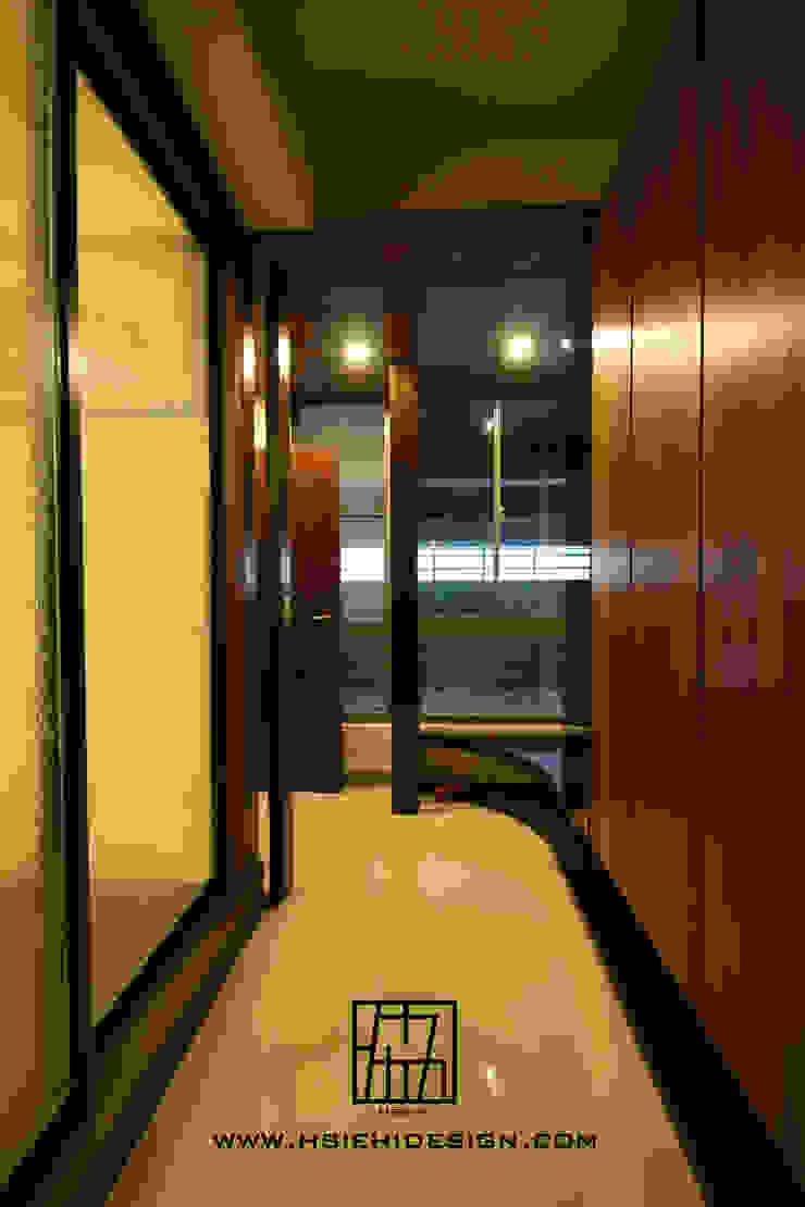 玄關廊道 亞洲風玄關、階梯與走廊 根據 協億室內設計有限公司 日式風、東方風