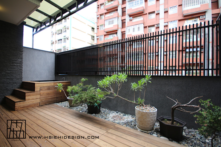 室外露臺 根據 協億室內設計有限公司 日式風、東方風