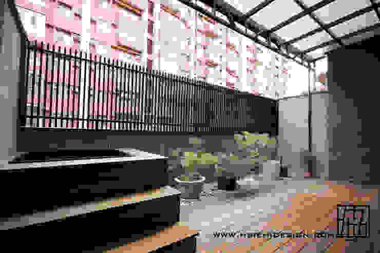 露臺泡腳池 根據 協億室內設計有限公司 日式風、東方風