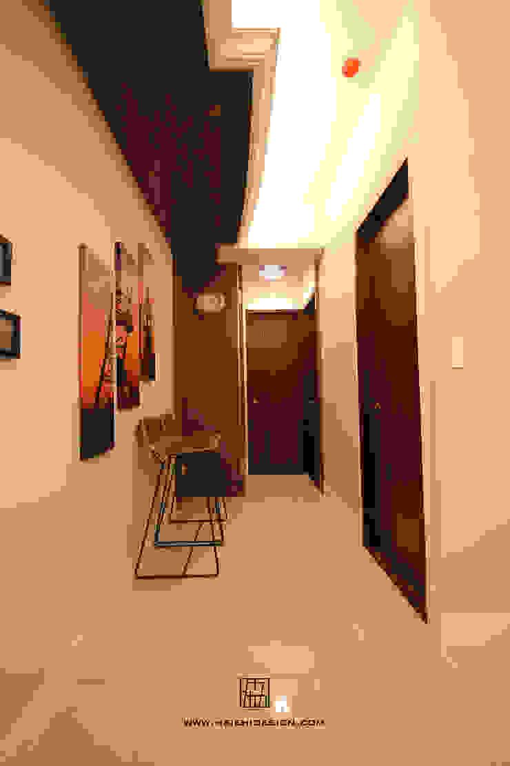廊道 經典風格的走廊,走廊和樓梯 根據 協億室內設計有限公司 古典風