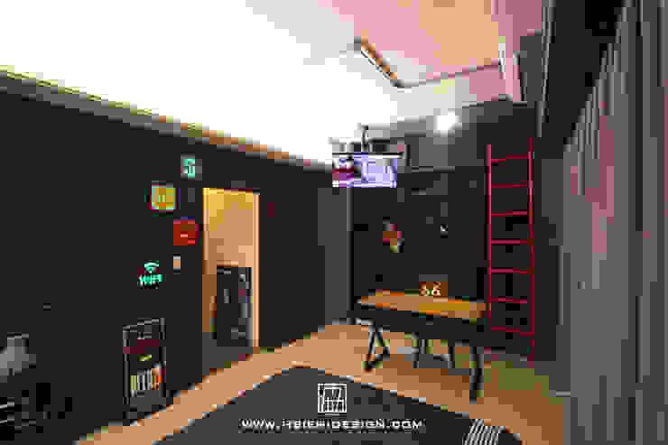 次臥室開放式書房 根據 協億室內設計有限公司 工業風