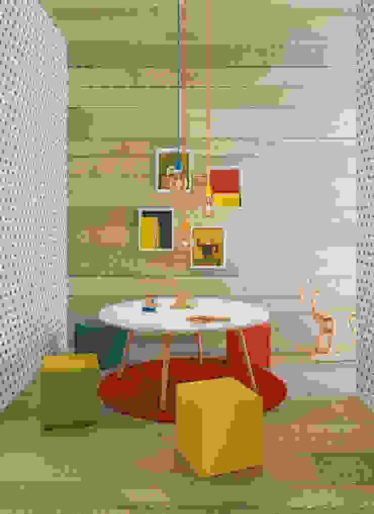 Nidi Modern Kid's Room Engineered Wood Wood effect