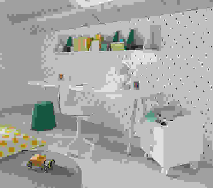 Nidi Modern Kid's Room Engineered Wood Blue