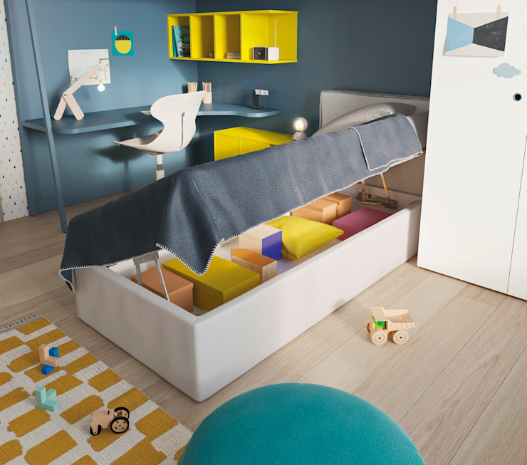 Moderne kinderkamers van Nidi Modern Houtcomposiet Transparant