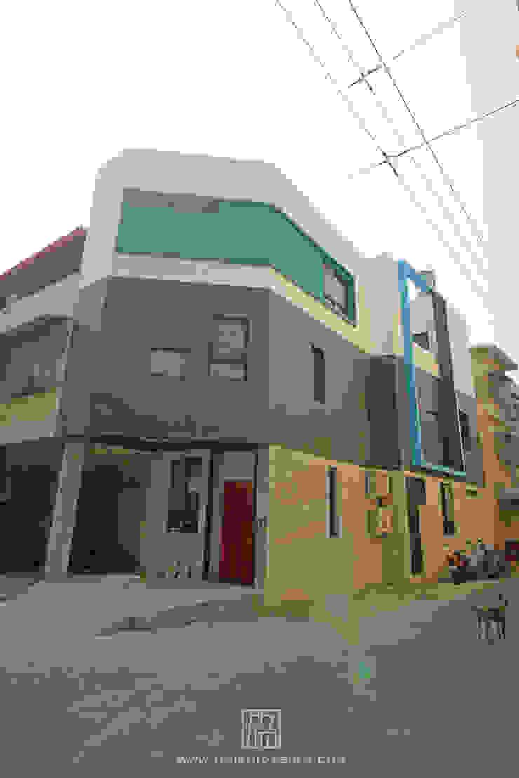 Casas de estilo industrial de 協億室內設計有限公司 Industrial