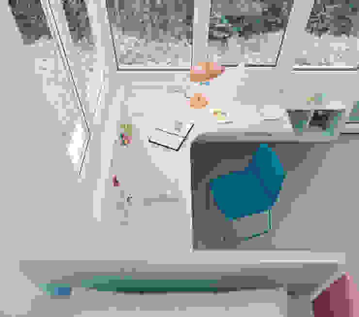 Nidi Modern Kid's Room Engineered Wood White