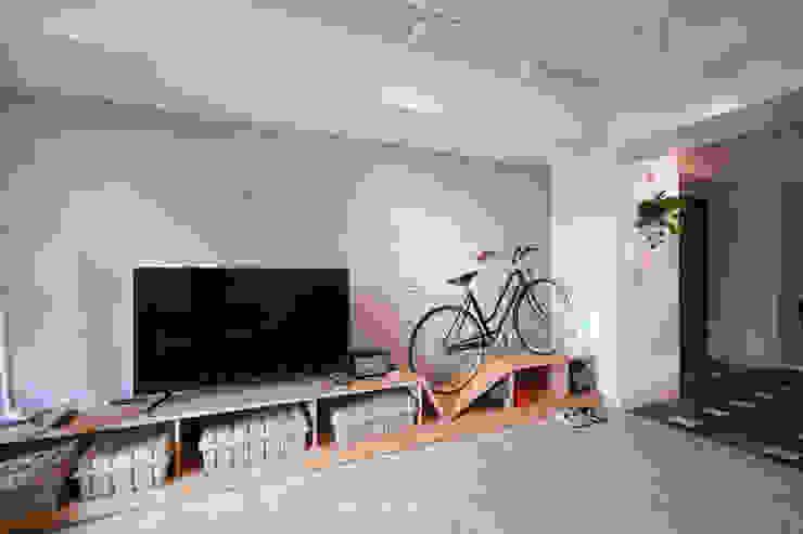 인더스트리얼 거실 by 協億室內設計有限公司 인더스트리얼