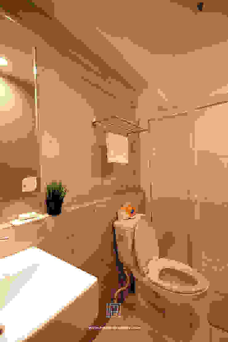 인더스트리얼 욕실 by 協億室內設計有限公司 인더스트리얼