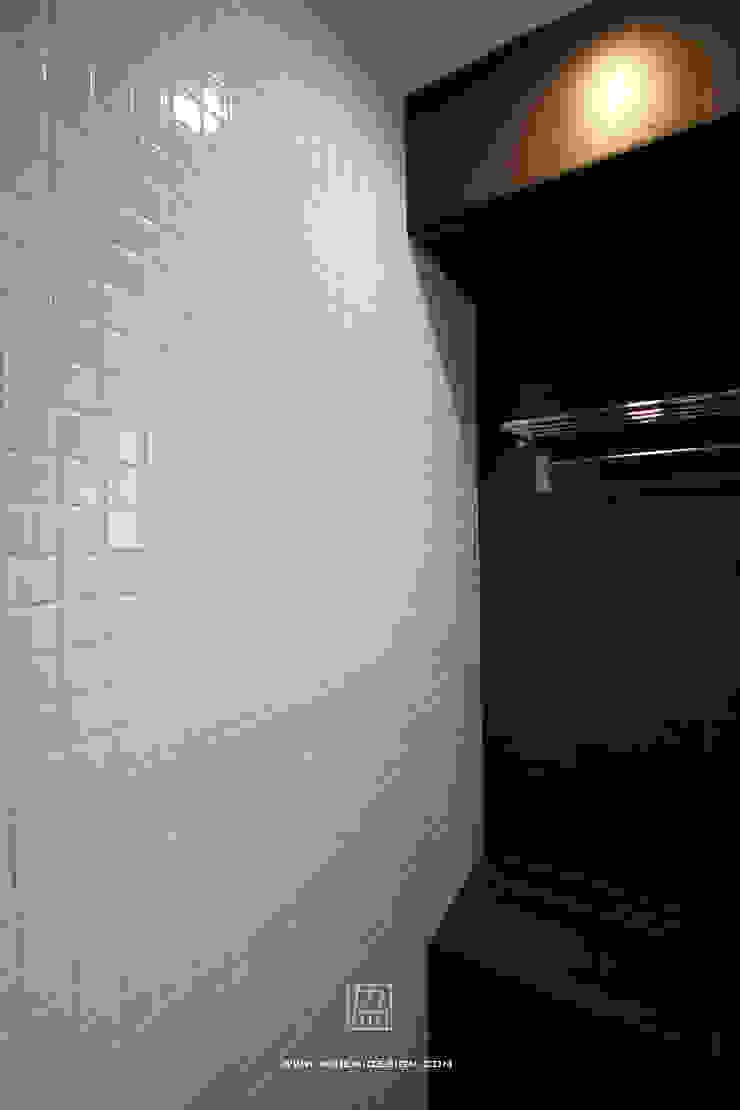 인더스트리얼 벽지 & 바닥 by 協億室內設計有限公司 인더스트리얼