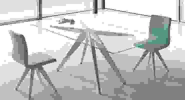 Dining room تنفيذ Intense mobiliário e interiores;,