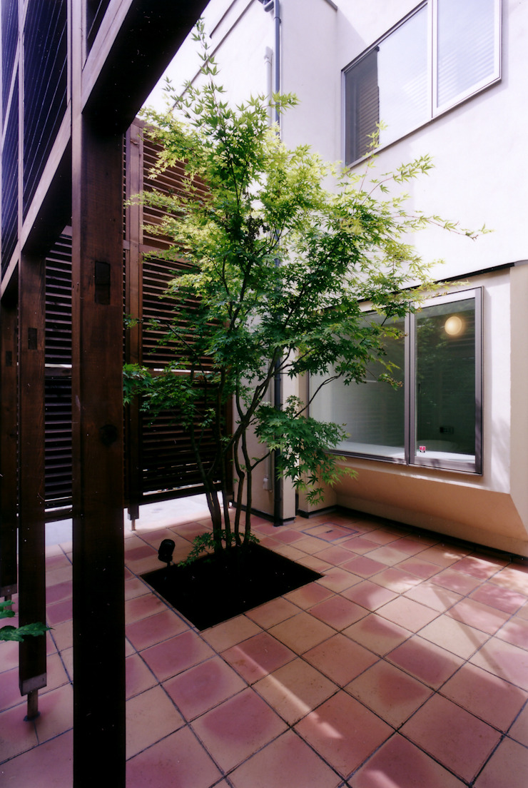 豊田空間デザイン室 一級建築士事務所 Jardines de estilo moderno