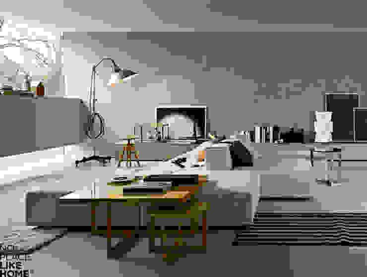 Living Room Salas de estar modernas por No Place Like Home ® Moderno
