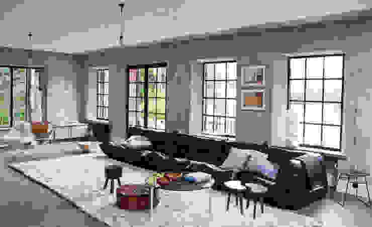 Lounge Room Salas de estar modernas por No Place Like Home ® Moderno