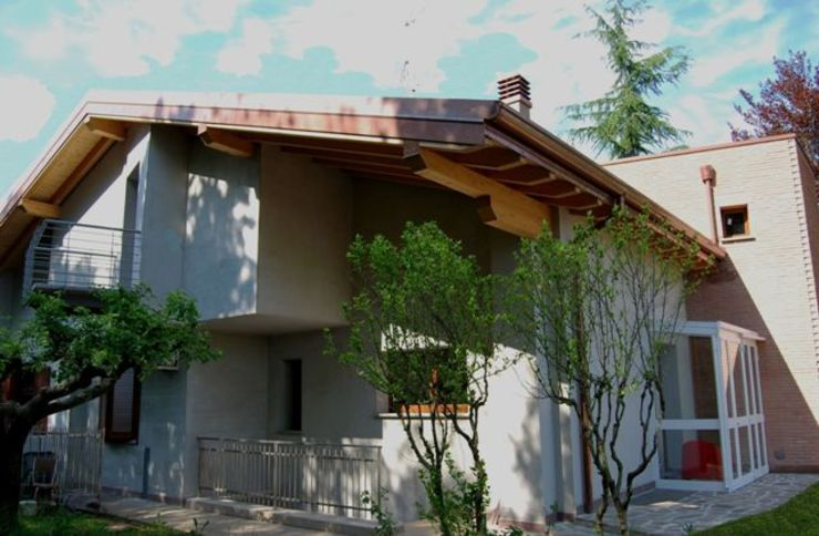 Fronte interno allo stato finale di Studio d'Architettura TAUNISIO Eclettico