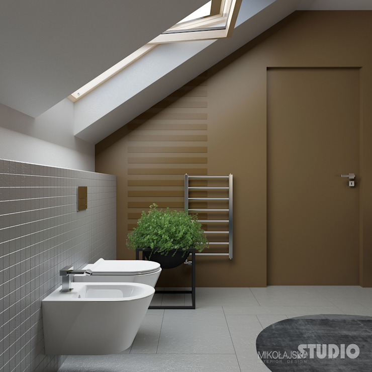 Modern style bathrooms by MIKOLAJSKAstudio Modern
