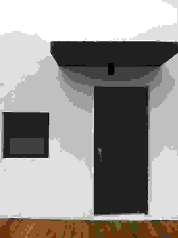 옥상 모던스타일 발코니, 베란다 & 테라스 by 디자인랩 소소 건축사사무소 모던