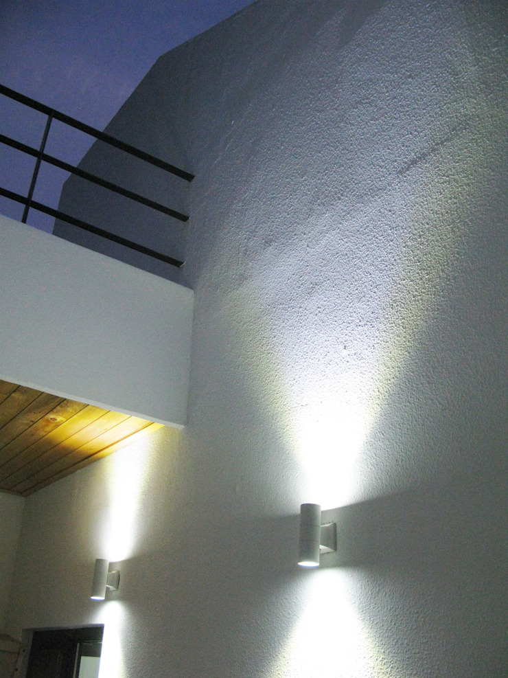 청유재 모던스타일 발코니, 베란다 & 테라스 by 디자인랩 소소 건축사사무소 모던