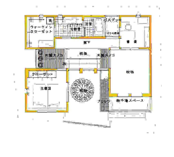 2F PLAN 北欧風 家 の 豊田空間デザイン室 一級建築士事務所 北欧
