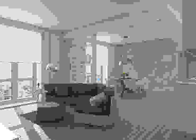 Livings de estilo moderno de Silvana Barbato, StudioAtelier Moderno