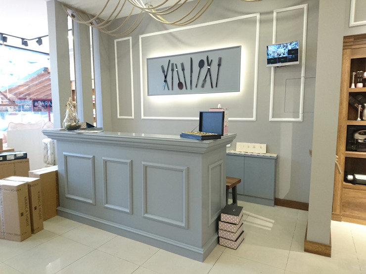 KARACA MAĞAZA Lux Tasarım Ofisi Rustik Ahşap Ahşap rengi