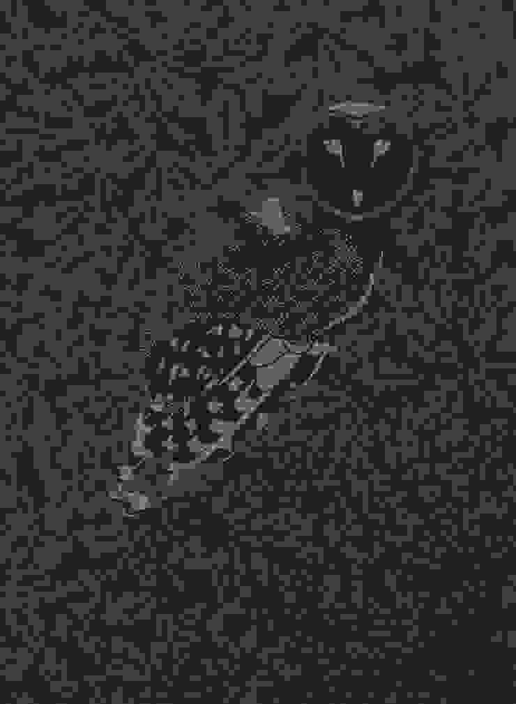 FOREST Midnight Wallpaper 10m Roll de Hevensent Ecléctico