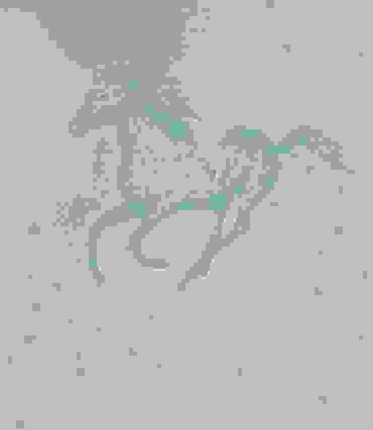 POPCORN Blue Wallpaper 10m Roll Hevensent 家居用品配件與裝飾品