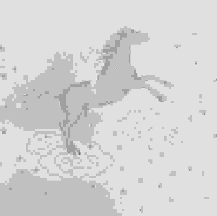 POPCORN Dust Dove Grey Wallpaper 10m Roll Hevensent 家居用品配件與裝飾品
