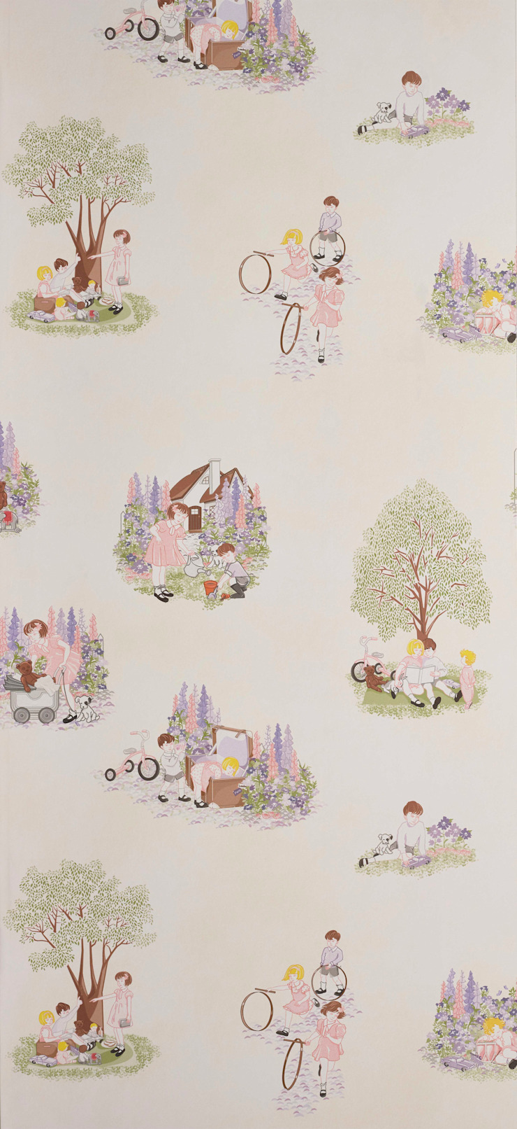 HOLIDAY Wallpaper 10m Roll Hevensent HouseholdHomewares