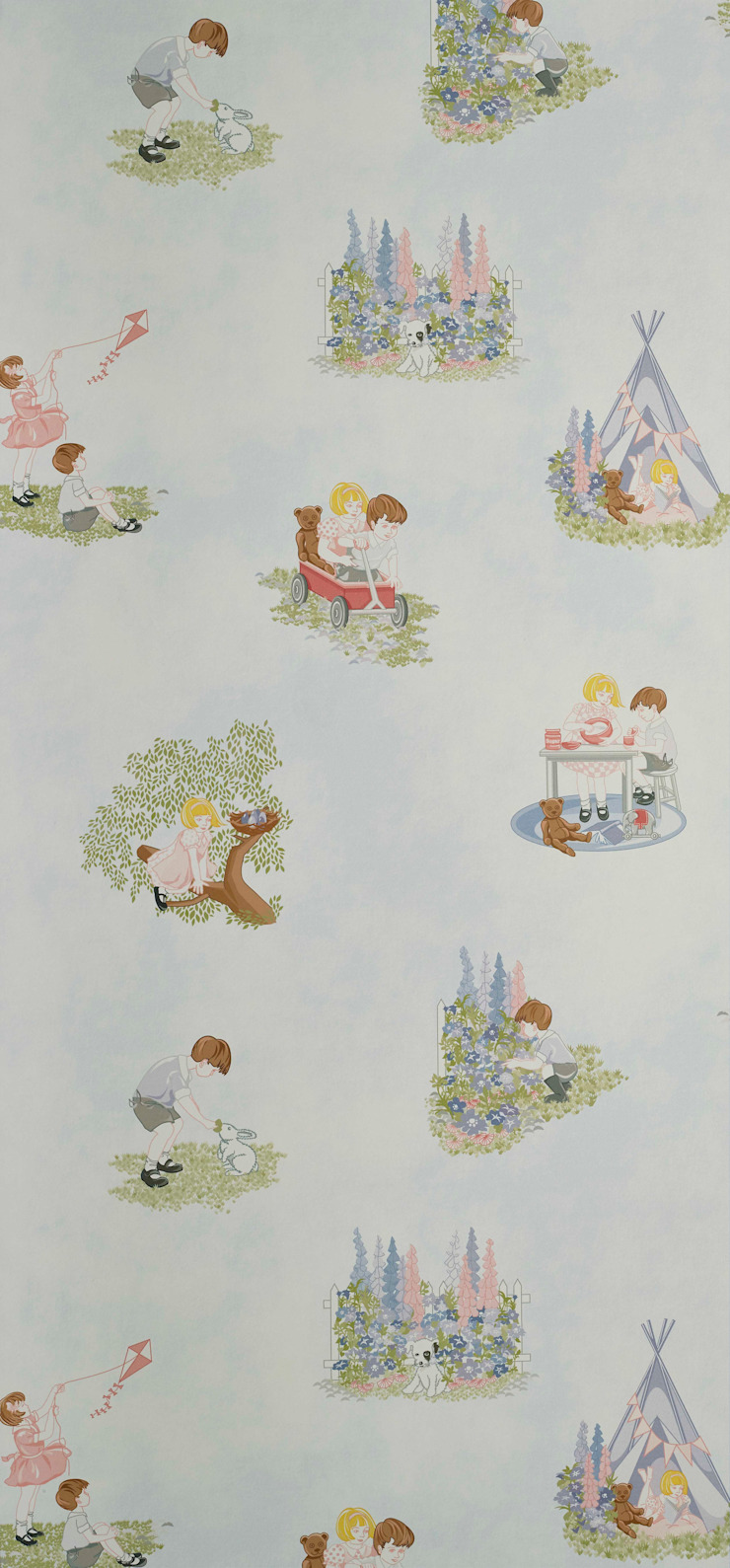 PLAYTIME Wallpaper 10m Ropll Hevensent 家居用品配件與裝飾品