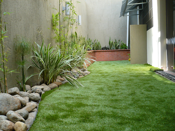 PRIVATE RESIDENCE—PANAMA CITY Minimalist style garden by TARTE LANDSCAPES Minimalist