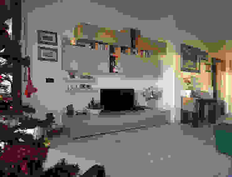 غرفة المعيشة تنفيذ Studio Gentile, حداثي