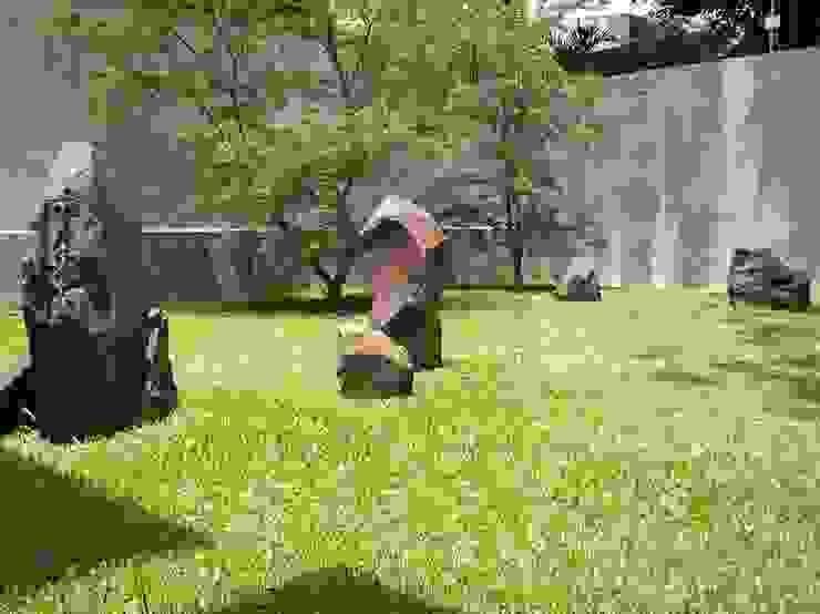 PRIVATE RESIDENCE—PANAMA CITY Minimalist style garden by TARTE LANDSCAPES Minimalist