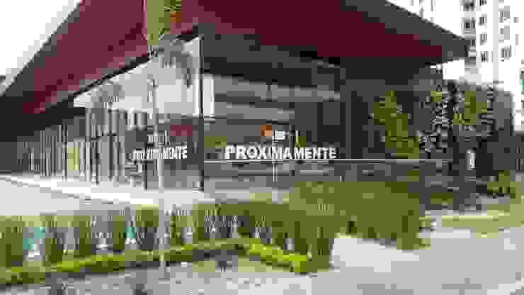 THE CORNER PLAZA - PANAMA CITY Modern Garden by TARTE LANDSCAPES Modern