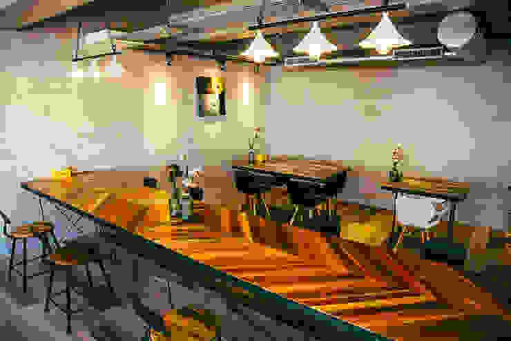 奇幻地咖啡-WONDER LAND 根據 七輪空間設計 隨意取材風