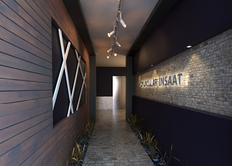 ROAS ARCHITECTURE 3D DESIGN AGENCY – INTERIOR DESIGN FOR KOYUNCULAR INSAAT: modern tarz , Modern