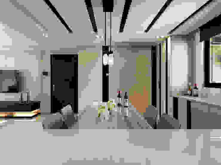 質感設計打造年輕人最愛現代風格 根據 拾雅客空間設計 現代風