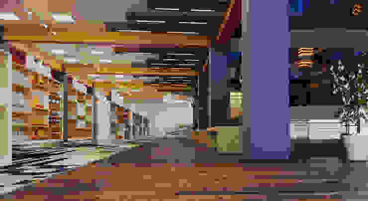 ทันสมัย  โดย ROAS ARCHITECTURE 3D DESIGN AGENCY, โมเดิร์น