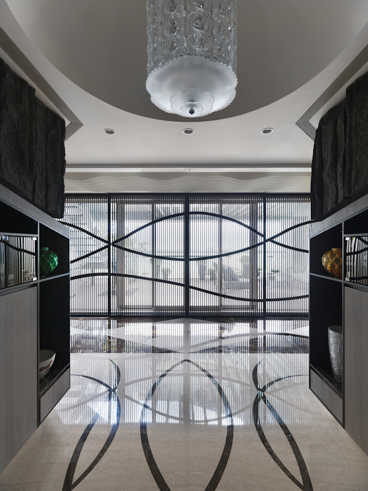 符號 現代房屋設計點子、靈感 & 圖片 根據 拾雅客空間設計 現代風