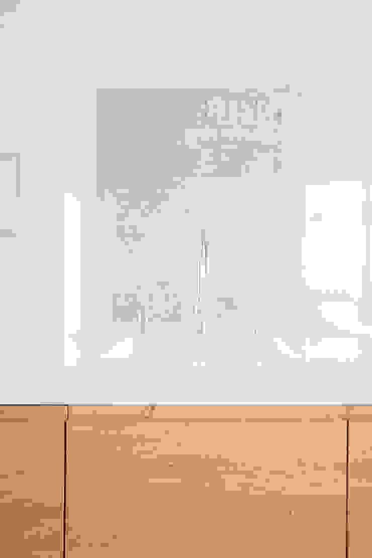 Keuken eiken hout gecombineerd met wit Landelijke keukens van Wood Creations Landelijk