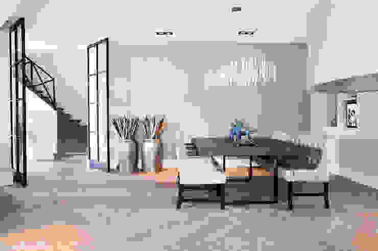 Gehele woonhuis landelijk chique Landelijke woonkamers van Wood Creations Landelijk