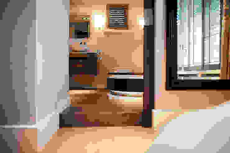 Gehele woonhuis landelijk chique Landelijke badkamers van Wood Creations Landelijk