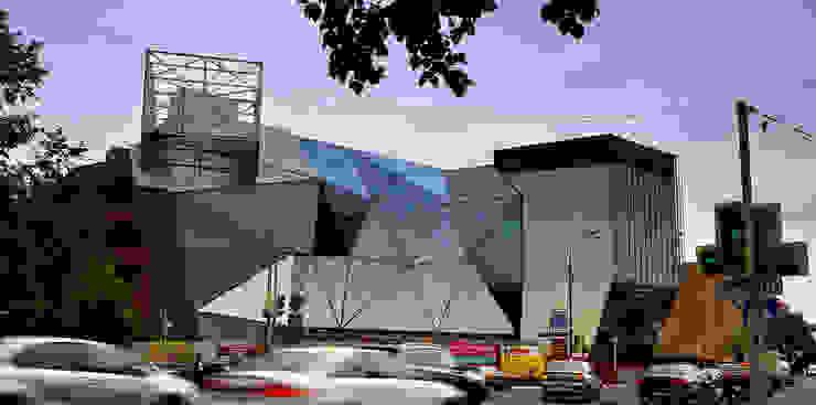 Espaces commerciaux modernes par Архитектурная Мастерская Георгия Пряничникова Moderne