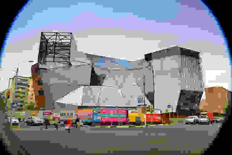 Locaux commerciaux & Magasin modernes par Архитектурная Мастерская Георгия Пряничникова Moderne