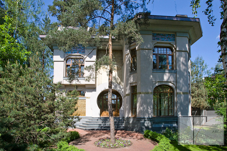 Архитектурная Мастерская Георгия Пряничникова Modern Evler