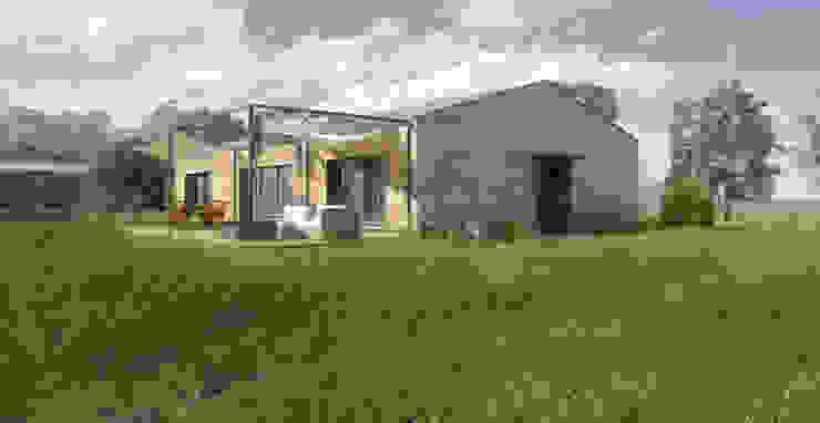現代房屋設計點子、靈感 & 圖片 根據 Belle Ville Atelier d'Architecture 現代風 木頭 Wood effect