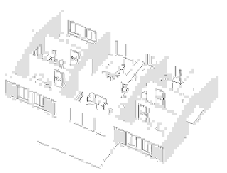 Maison RJ (isolation paille) Maisons modernes par Belle Ville Atelier d'Architecture Moderne