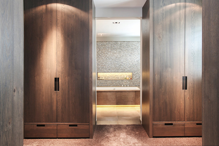 Badkamer landelijk strak Landelijke badkamers van Wood Creations Landelijk