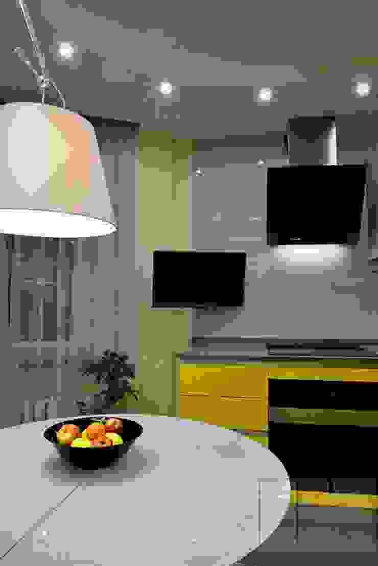 Cuisine minimaliste par Архитектурная Мастерская Георгия Пряничникова Minimaliste