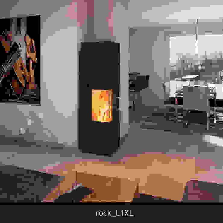 monolith rock L1XL CB stone-tec GmbH Moderne Wohnzimmer Stein