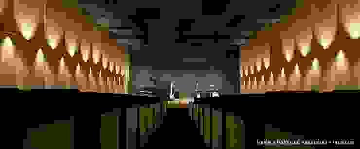 โดย Angelica Hoffmann Arquitetura e Interiores โมเดิร์น